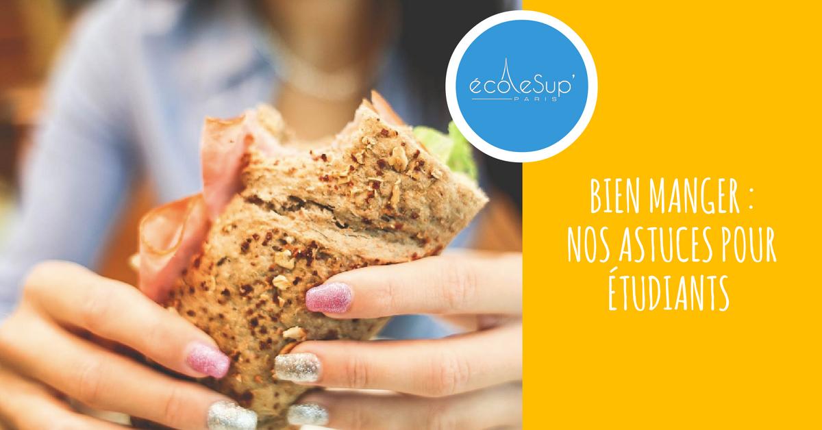 Bien manger : nos astuces pour étudiants