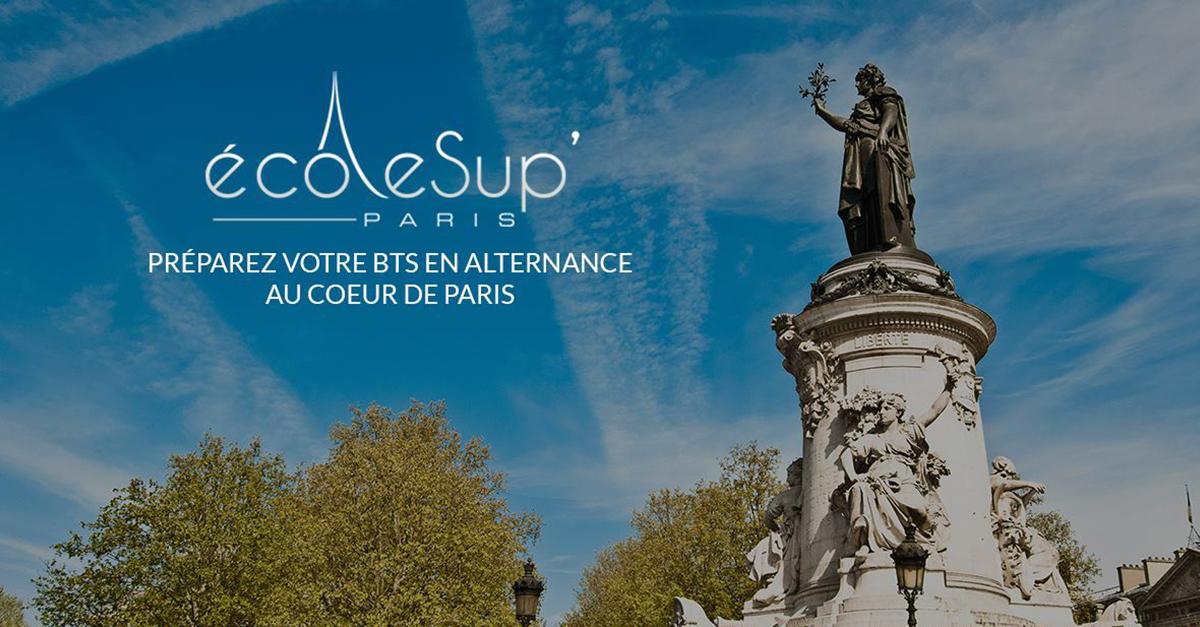 École Sup' Paris et ses BTS en alternance : un partenaire qui veut votre réussite